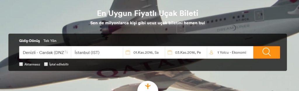 denizli-istanbul-ucak-bileti-fiyati